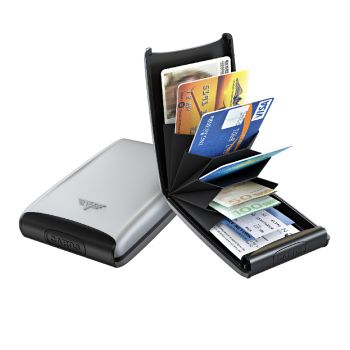 CREDIT CARD CASE FAN SILVER ARROW