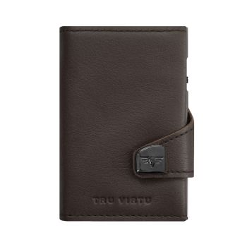WALLET CLICK & SLIDE NAPPA BROWN