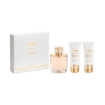 QUATRE WOMEN EDP 100 ML + BODY LOTION 100 ML + SHOWER GEL 100 ML