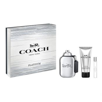 MAN PLATINUM EDP 100 ML + SHOWER GEL 100 ML + EDP 7.5 ML
