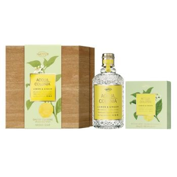 ACQUA COLONIA LEMON & GINGER EDC 170ML + JABON 100G