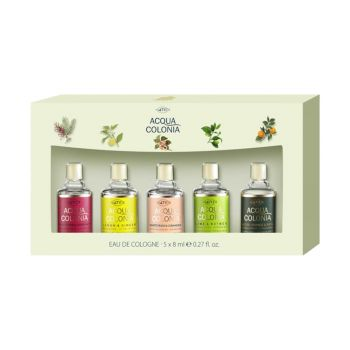 ACQUA COLONIA MINIATURE SET X 5 8ML